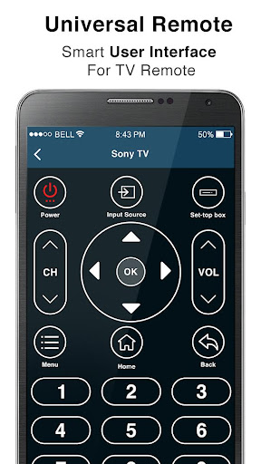 Screenshot for Remote Control for All TV in United States Play Store
