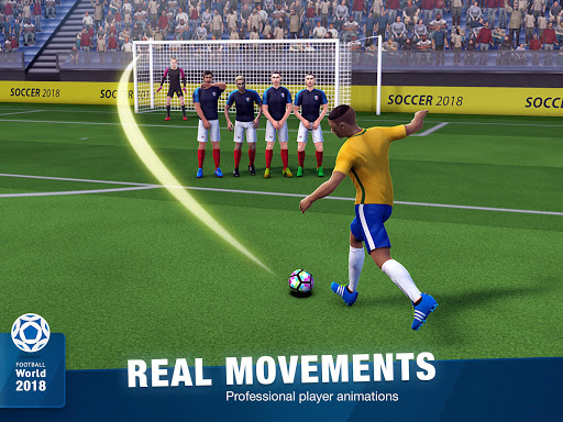 FreeKick Soccer 2018  gameplay | by HackJr.Pw 12