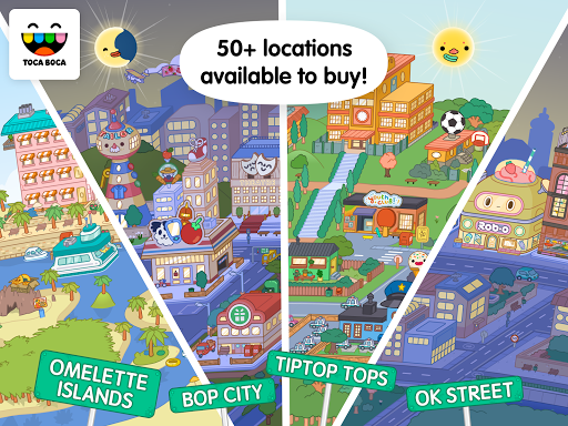 Screenshot for Toca Life: World in United States Play Store