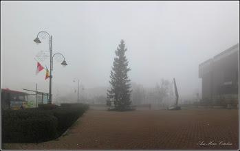 Photo: Piata 1 Decembrie 1918 - 2018.01.09 - zi cu ceata