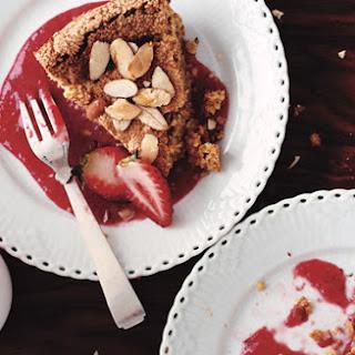 Almond-Lemon Torte with Fresh Strawberries