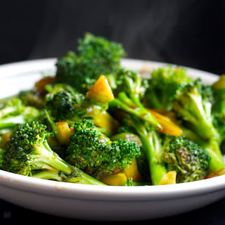 Asian Stir Fried Broccoli