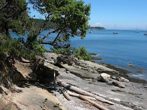 Photo: Day 8: Echo Bay at Sucia Island.