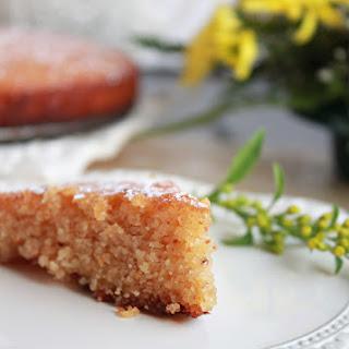 Orange And Almond Cake – Celebrating a year of blogging !!!