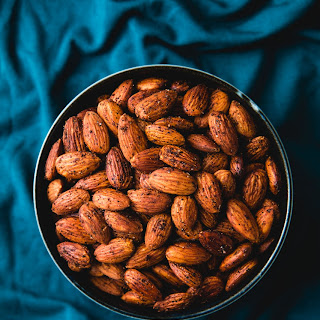 Chili And Chinese Five Spice Toasted Almonds (vegan, gluten-free).