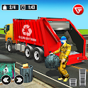 Real Garbage Truck: Trash Cleaner Driving Games icon