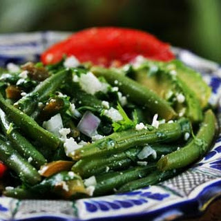 Mexican Green Bean Salad.