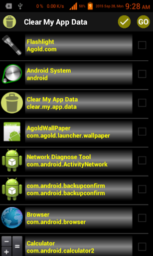 Clear My App Data