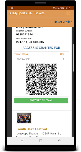 AMS Tickets 1.0 screenshots 4