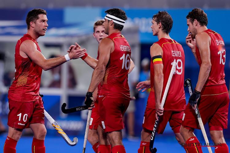 Scheidsrechterlijke blunder deert Red Lions niet: België op en over Spanje naar halve finales