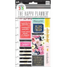 Me & My Big Ideas Create 365 Planner Stickers - Happy Life