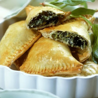 Shortcrust Spinach and Cheese Pastries.