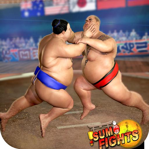 مصارعة السومو 2019: لعبة القتال Sumotori الحية