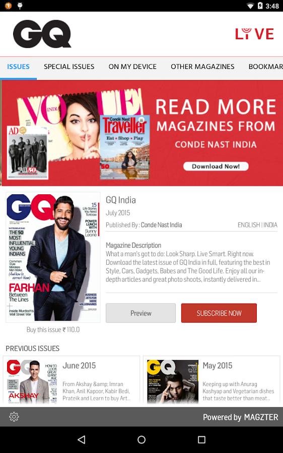GQ India- screenshot