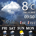 Real Time Live weather Forecast & Weather Alerts icon
