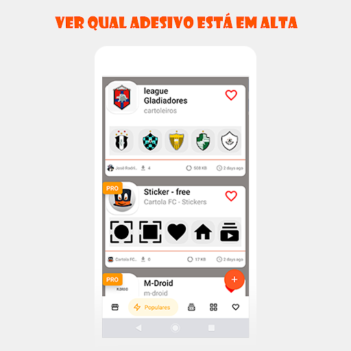 Foto do Stickers - Cartola FC