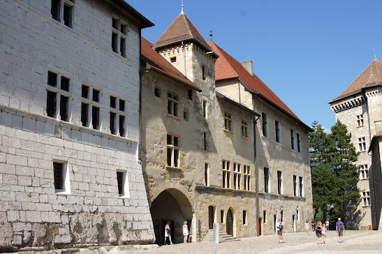 Замок Анси - Туристический маршрут по Анси