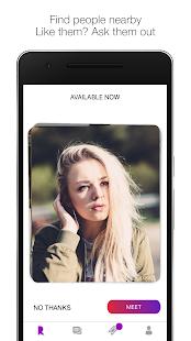 Rebound - Offline Dating App - náhled