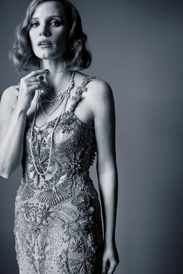Джессика Честейн в фотосессии Каннского фестиваля-2016