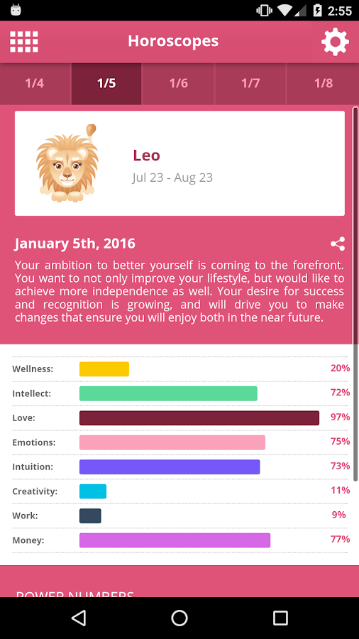 Horoscopes- screenshot