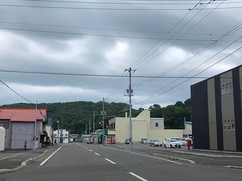 沿岸バス「上平古丹別線」 1808_06 古丹別 街並み