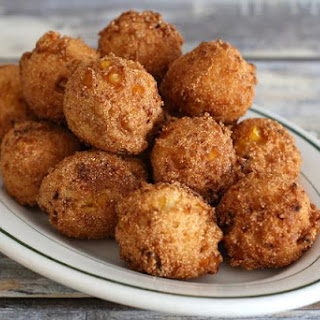 Easy Hush Puppies With Cream-Style Corn