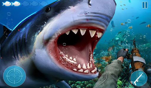Angry Shark Attack: Deep Sea Shark Hunting Games 1.1 screenshots 12