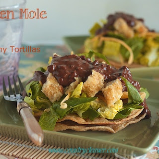 Chicken Mole Salad