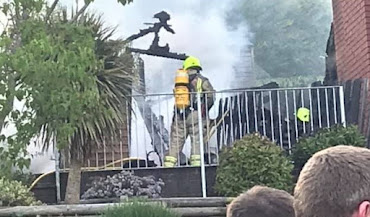 Welshpool Firefighters tackle blaze on Westwood Park