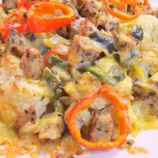 Roasted Cauliflower Nachos