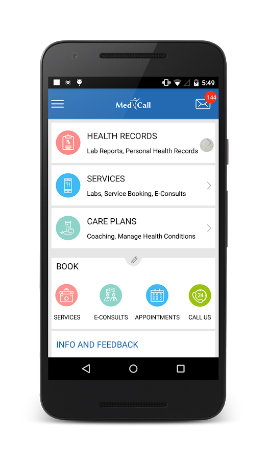 MedCall- screenshot