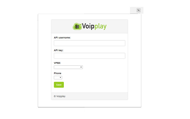 Voipplay Web Dial