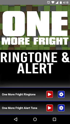 One More Fright Ringtone Alert