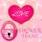 Pink Heart Theme GO Locker logo
