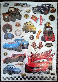 Väggvinyl, Cars