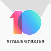 MIUI 10 STABLE UPDATES
