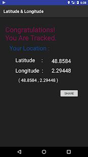 Latitude & Longitude (Offline) - náhled
