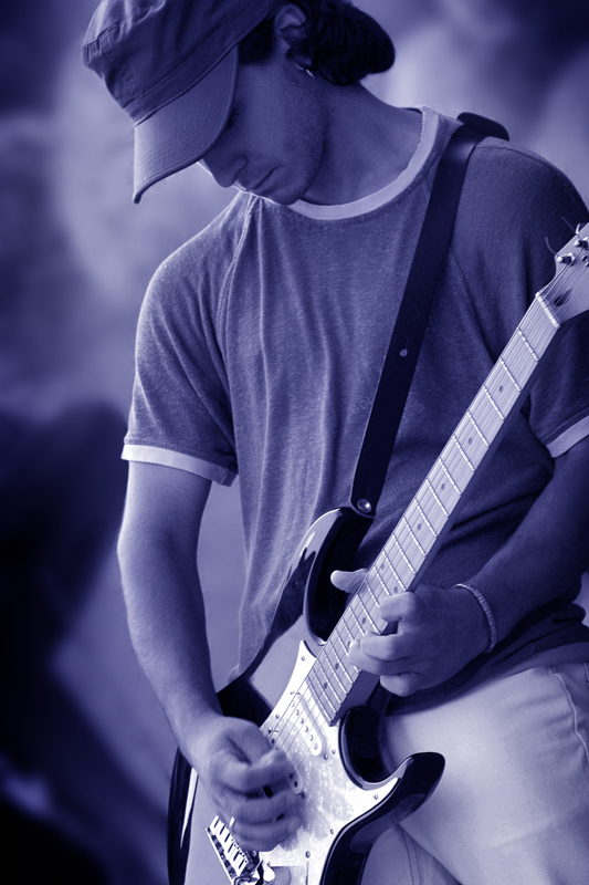 Guitarist Cousins di fredphoto