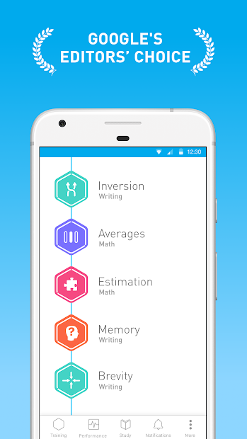 Elevate - Brain Training Games Android App Screenshot