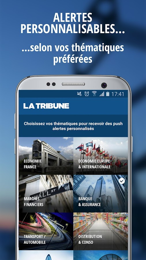 La Tribune- screenshot