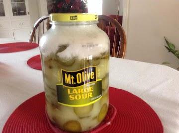 Easy Pickles Recipe