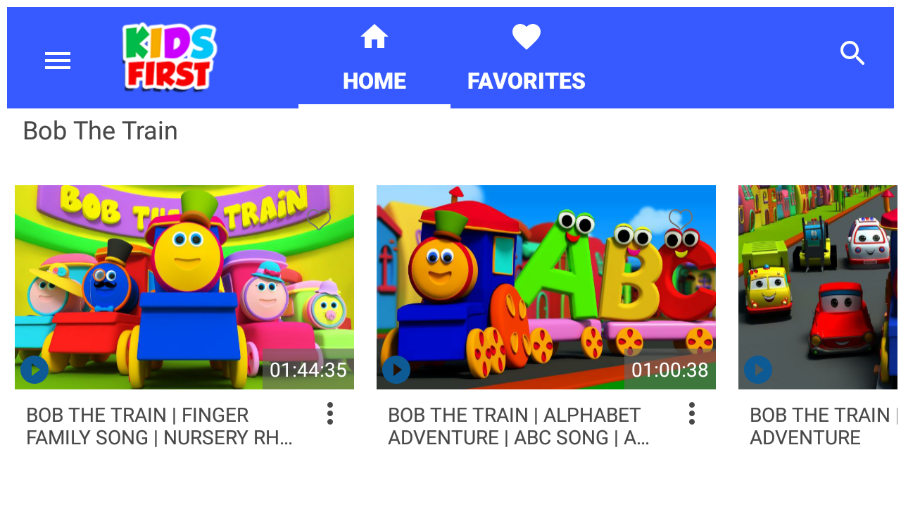 kids videos u0026 nursery rhymes kids first android apps on google