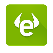 eToro Cryptocurrency Trading Icon