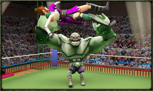 Incredible Monster Superheroes Ring Battle  screenshots 1