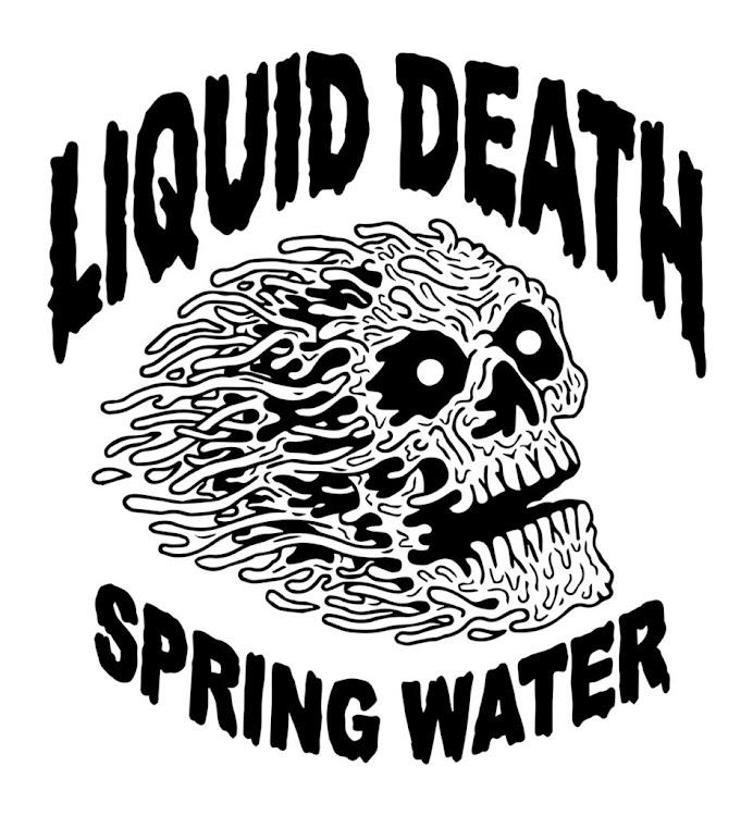 Logo for Liquid Death Mountain Water