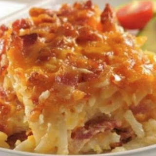 5 Ingredient Potato Bacon Casserole