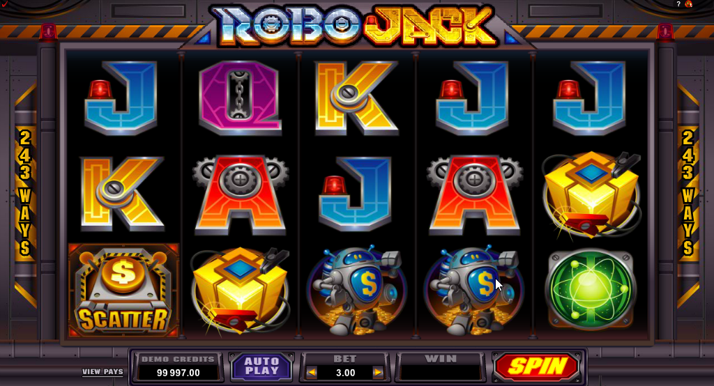 Robo Jack Slots Game Review