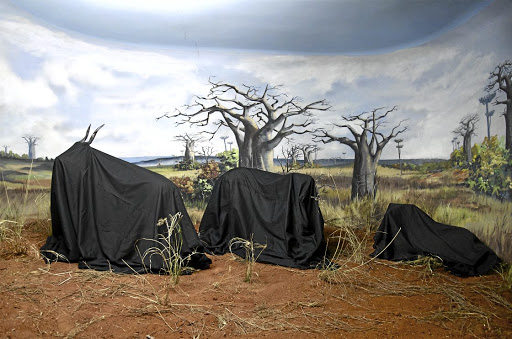 In one series of prints, In the Days of a Dark Safari #3, Angolan artist Kiluanji Kia Henda draped stuffed animals with black cloth, protecting them from any categorising gaze and making them unknowable, mutable, mythic objects