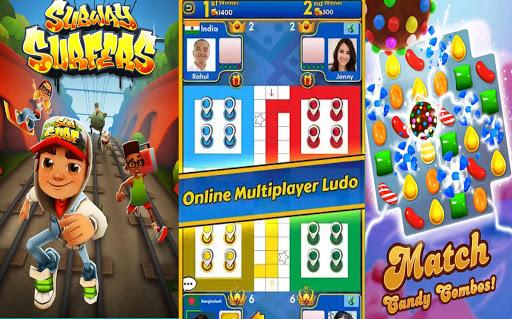 Games World Online All Fun Game - New Arcade 2020 apktram screenshots 2