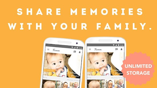 Famm - photo & video storage for baby and kids.- screenshot thumbnail